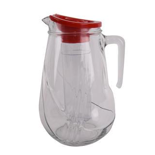 Skleněný džbán s vložkou na ovoce ROLL 2,5 l