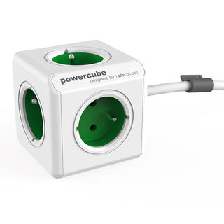 Rozbočovač PowerCube Extended zelený