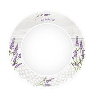 Keramický jídelní talíř Levandule
