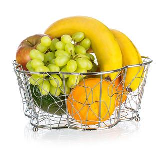 Drátěný koš na ovoce Vanity kytka, BANQUET