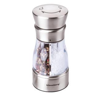 Mechanický mlýnek na sůl a pepř nerez
