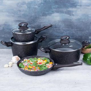 Banquet sada nádobí Premium s nepřilnavým povrchem 7 ks