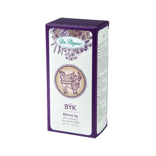 Bylinný čaj podle znamení horoskopu - Býk