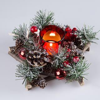 Vánoční svícen hvězda