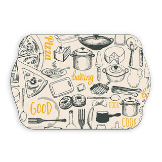 Melaminový tác sandwich Retro kitchen, BANQUET