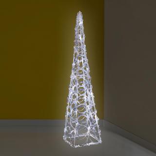 Vánoční jehlan LED dekorace