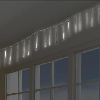 Bílá světla padající v trubici LED světla