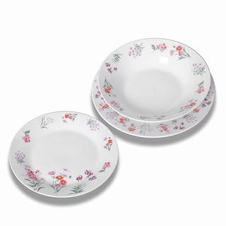 Porcelánová sada talířů ARABIS 18 ks