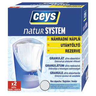 Náplň do pohlcovače vlhkosti Ceys Natur system 2 ks