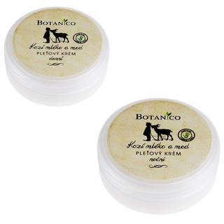 Botanico denní a noční krém s kozím mlékem a medem 50 ml + 50 ml