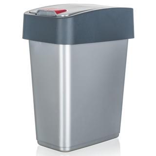 Koš odpadkový KEEEPER, šedý