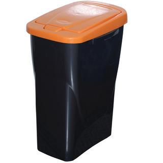 Koš na tříděný odpad oranžové víko 25 l