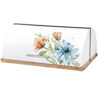 Chlebovka FLORIS s bambusovou deskou
