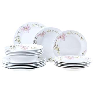 Porcelánová sada talířů EMILIO 18 ks