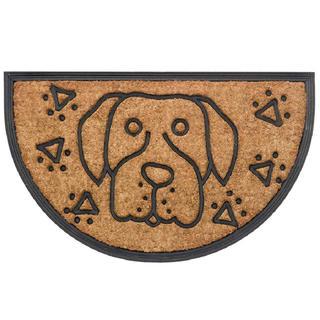 Rohožka půlkruh BOMBAY pes