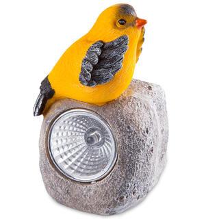 Solární zahradní dekorace - ptáček