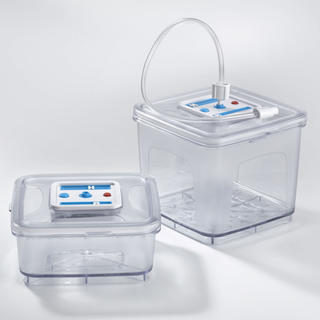 Sada 2 hranatých dóz Concept pro vakuové skladování VD-8200