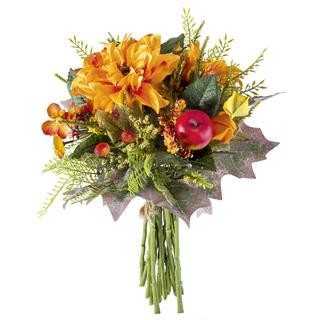 Umělá podzimní kytice 32 cm