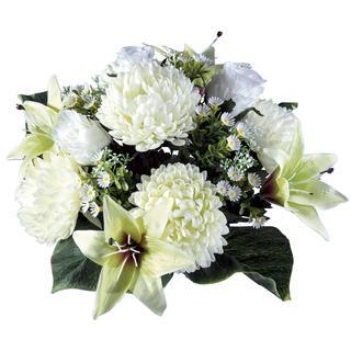 Umělá kytice chryzantén