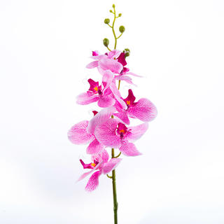 Umělá ORCHIDEJ výhon růžová 87 cm