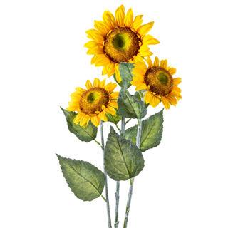 Sada umělých slunečnic 3 ks