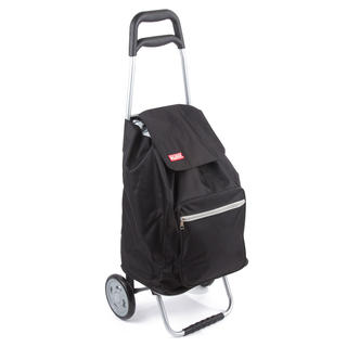 Nákupní taška na kolečkách CARGO černá