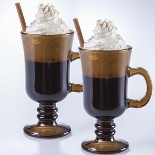 Sada sklenic na kávu VENEZIA kouřová 215 ml 2 ks