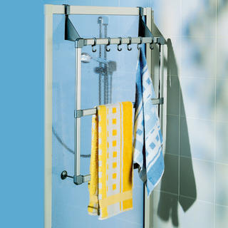 Držák ručníků na dveře a sprchové kouty