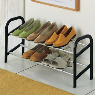 Roztažitelný hliníkový botník až na 12 párů bot