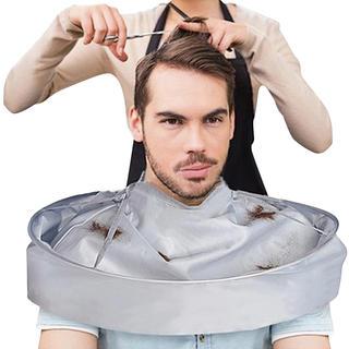 Textilní ochrana při stříhání vlasů
