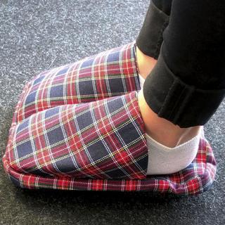 Textilní zahřívač nohou