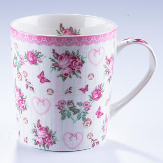 Porcelánový jumbo hrnek Růže 550 ml
