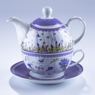 Sada na čaj LEVANDULE Tea for one