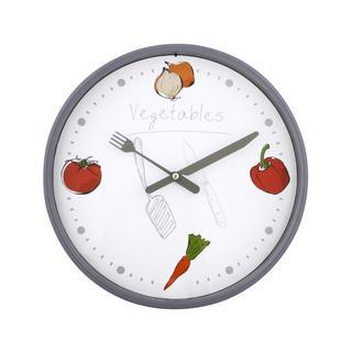 Nástěnné hodiny ZELENINA 25 cm