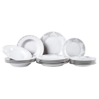 Porcelánová sada talířů BAROCCO 18 ks