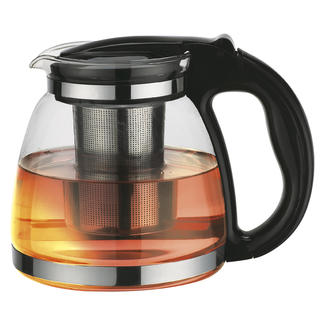 Skleněná konvice na čaj se sítkem 1,5 l Orava VK-150