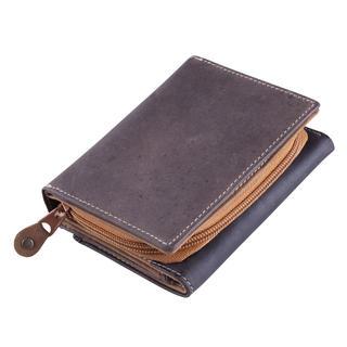 Kožená univerzální peněženka hnědá