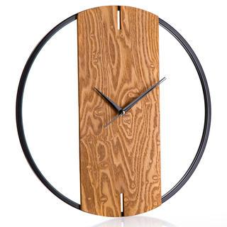 Nástěnné hodiny WOOD DECO 40 cm