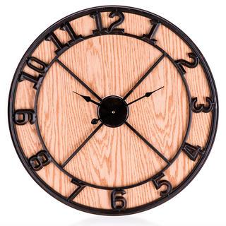 Nástěnné hodiny WOOD DECO 60 cm
