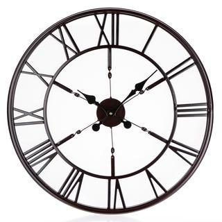 Nástěnné hodiny ANTIC BLACK 60 cm