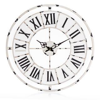 Nástěnné hodiny ANTIC WHITE 50 cm