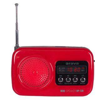 Přenosné radio s USB Orava RP-130 R červené