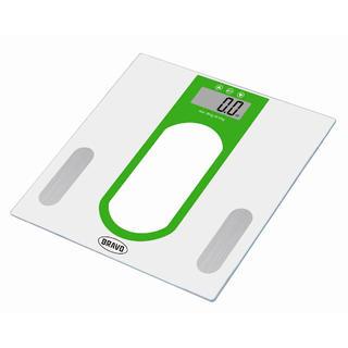 Osobní váha s tukoměrem BRAVO zelená