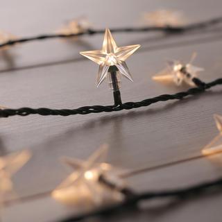 Světelný řetěz se 100 LED  hvězdičkami 12,5 m