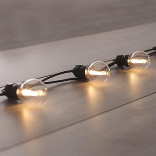 Světelný řetěz s 10 LED žárovkami 8 m