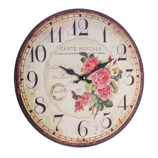 Nástěnné hodiny RŮŽE 34 cm