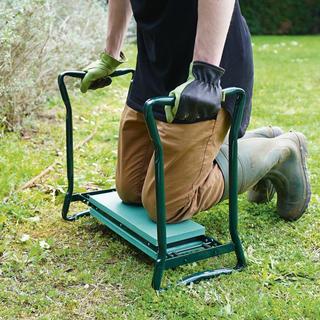 Zahradní stolička klekačka 2v1