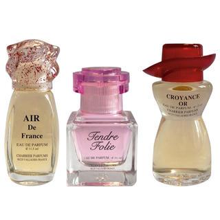 Francouzské parfémy, sada 3 ks
