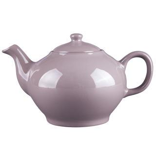 Porcelánová čajová konvice ALFA hnědá 1,4 l
