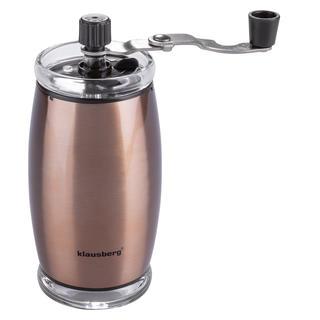 Mechanický mlýnek na kávu KLAUSBERG měděný